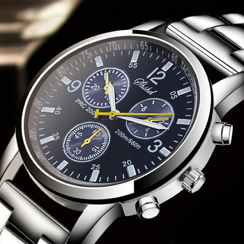 2019 New Men's Watches Top Luxury Brand Watch Men Stainless Steel Belt Fashion Male Hours Business Quartz Watch