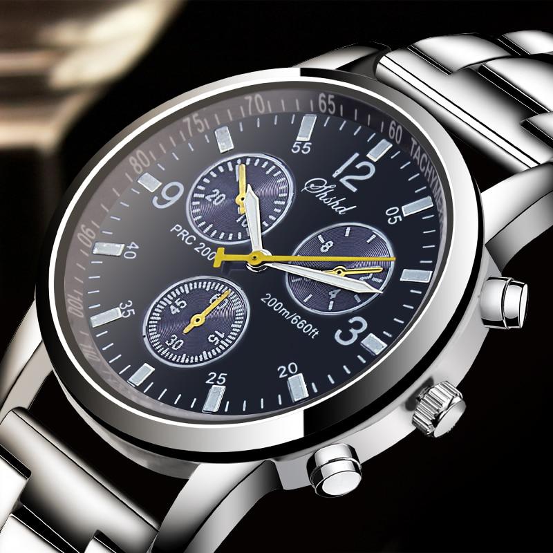 2018 New Mens Watches Top Luxury Brand Watch Men Stainless Steel Belt Fashion Male Hours Business Quartz Watch relogio masculino