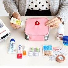 Путешествия Портативная Мода Мини Аптечка Аптечка На Открытом Воздухе Кемпинга Travel Home Survival  Лучший!