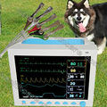 "CE veterinary Patient Monitor,ECG NIBP PR Spo2 Temp Resp 12.1""colour For Vet use"