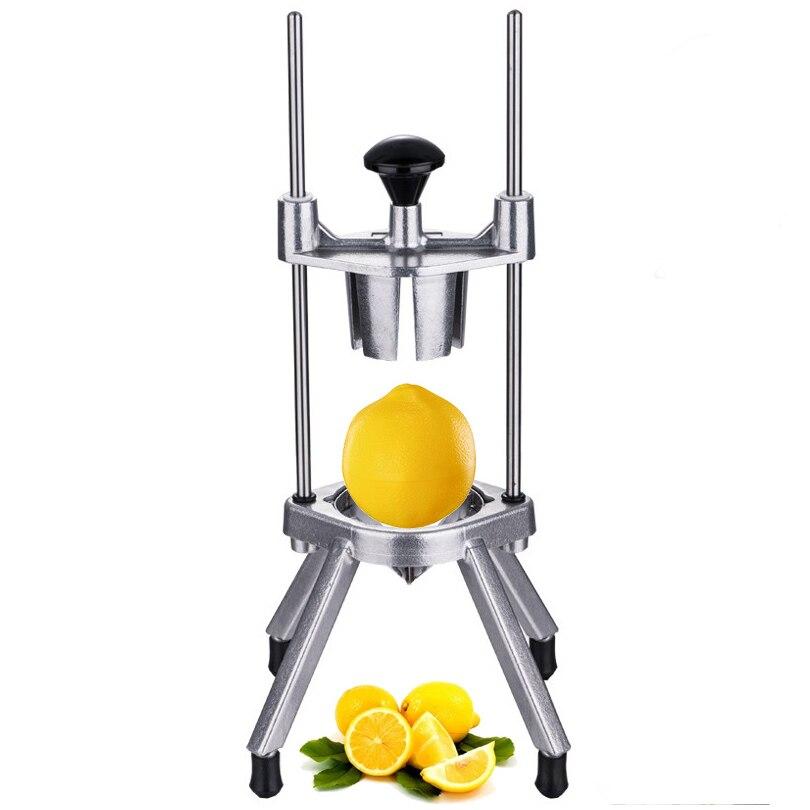 Limone Arancia Mela Cucina Facile Frutta Divisore Wedger Taglio Taglierina Attrezzo Della Cucina Creativa Arancione Facile Corer - 2