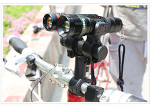 Bicycle Light Handlebar Extending Shelf Extension Clip Lamp Socket Extend Bike Lighthouse Lamp Clip Holder Bike Accessories