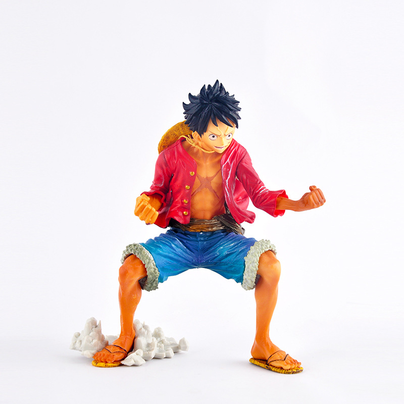 Anime Banpresto One Piece King of Artist The Monkey D. Luffy PVC Action Figure Collectible Model Kids Toys Doll 21cm 2 Colors