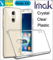 Imak Crystal Clear Protector Cover Case For Xiaomi Redmi Note 4X Transparent Hard PC Shell Note