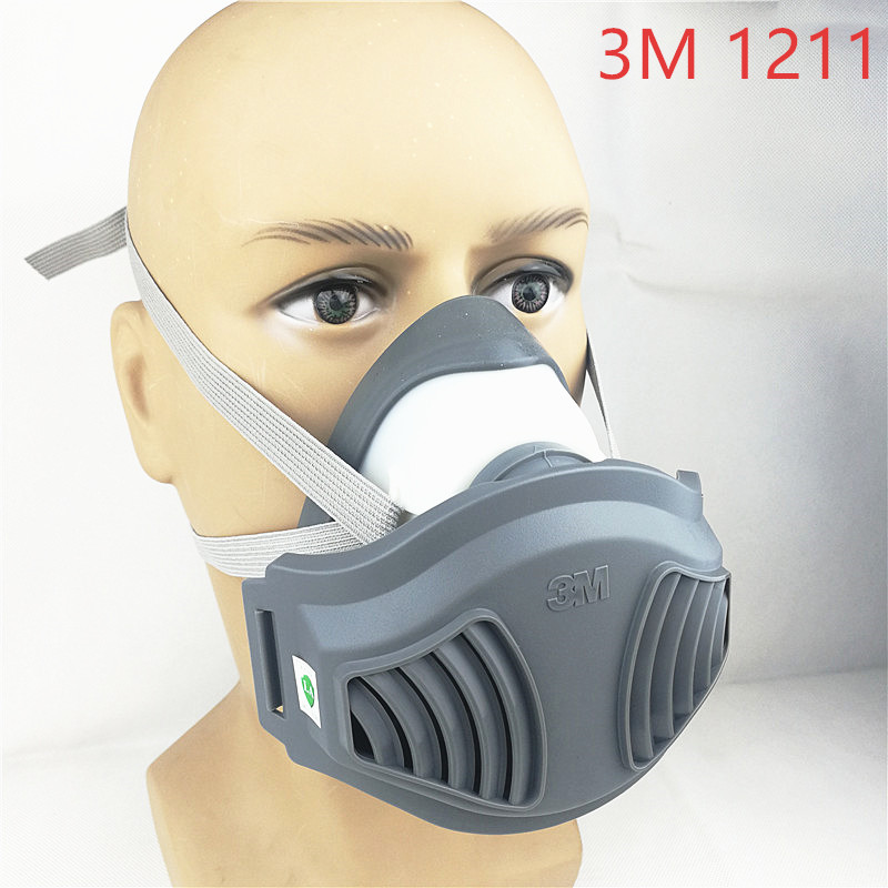3 м 1211 противогаз для предотвращения пыли подходит для промышленного грузовика пыльца дымка яд Семья Профессиональный