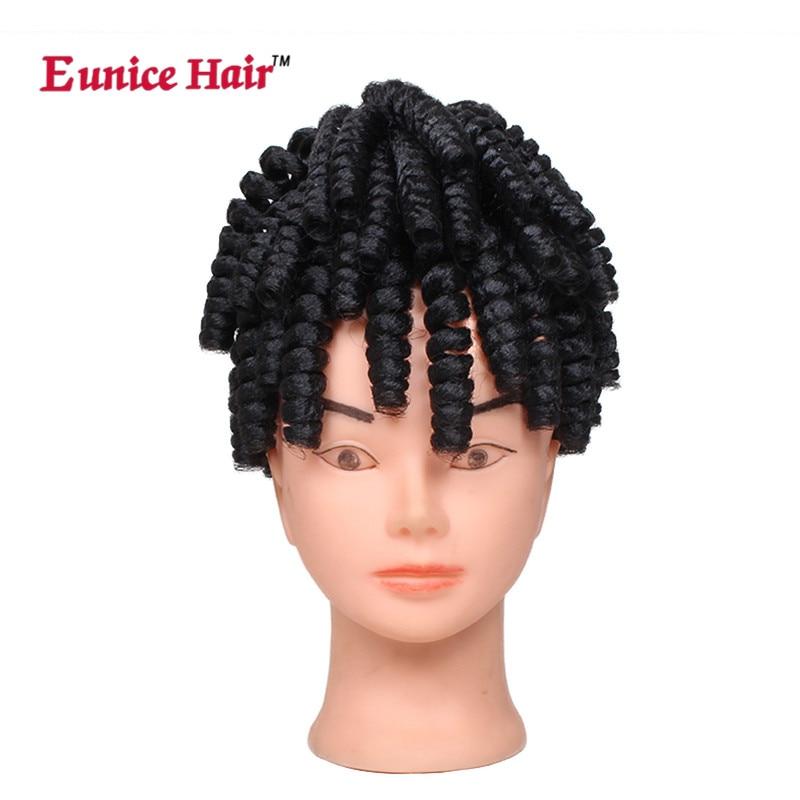 Eunice Hair 3 Packslot Afro Kinky Curly Crochet Hair Weave