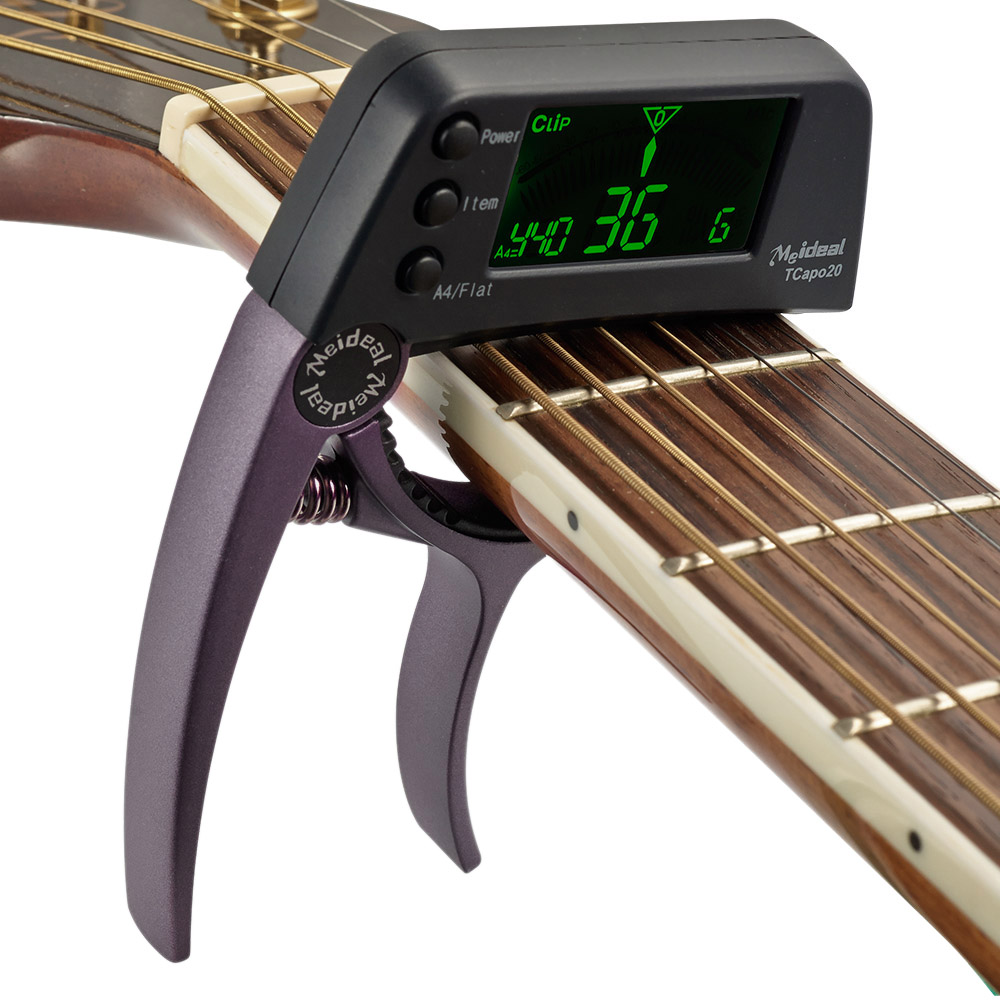 Guitar Capo with Built-in Tuner 1