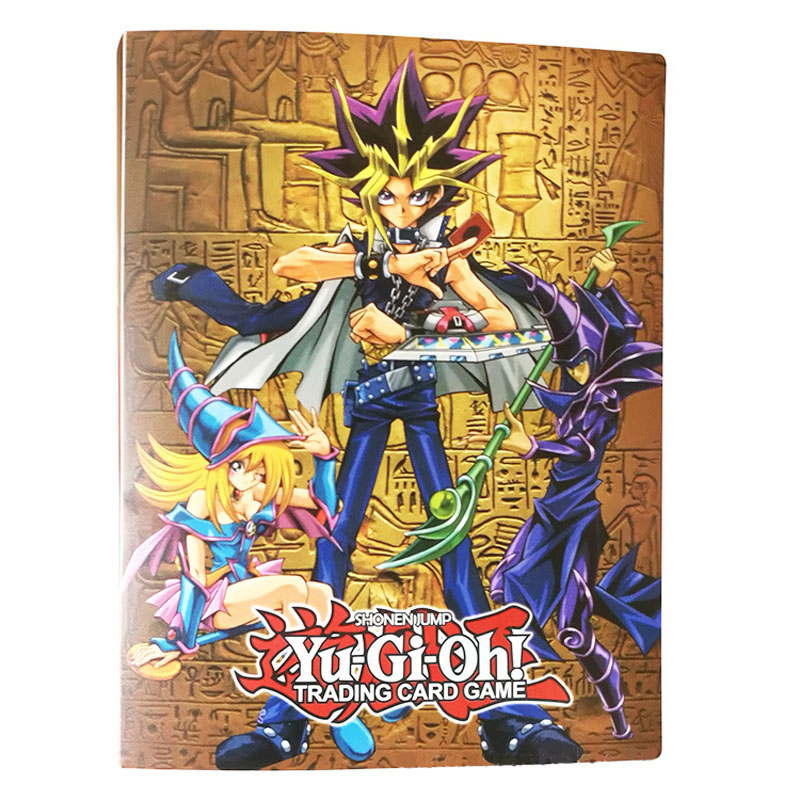 Yu Gi Oh Card Collection Book Card Storage Finishing