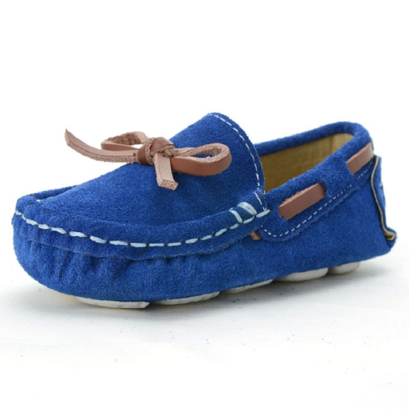 Kids Girls Boys Toddler Casual Shoe Baby Infant Shoes Children School Student Girl Boy Single Shoes Loafers Oxford Flats Blue