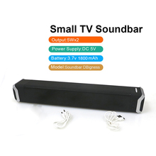 NewRixing Portable 10W Wireless Bluetooth Speaker Soundbar Super Bass Stereo Speaker Phone with Micphone Speaker for TV PC Phone