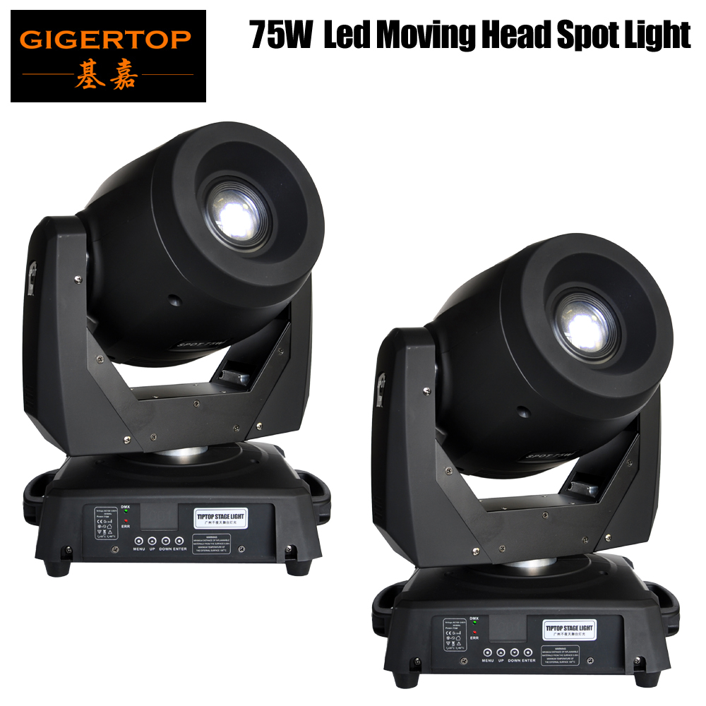 TIPTOP 2xLot DMX 512 75W LED Spot Moving Head Light Variable Motorized Focus Led Display High Power China Tyanshine White LedTIPTOP 2xLot DMX 512 75W LED Spot Moving Head Light Variable Motorized Focus Led Display High Power China Tyanshine White Led