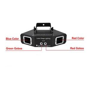 Image 4 - Disco Laserlicht Rgb Full Color Beam Light Dj Effect Projector Scanner Laser Podium Verlichting