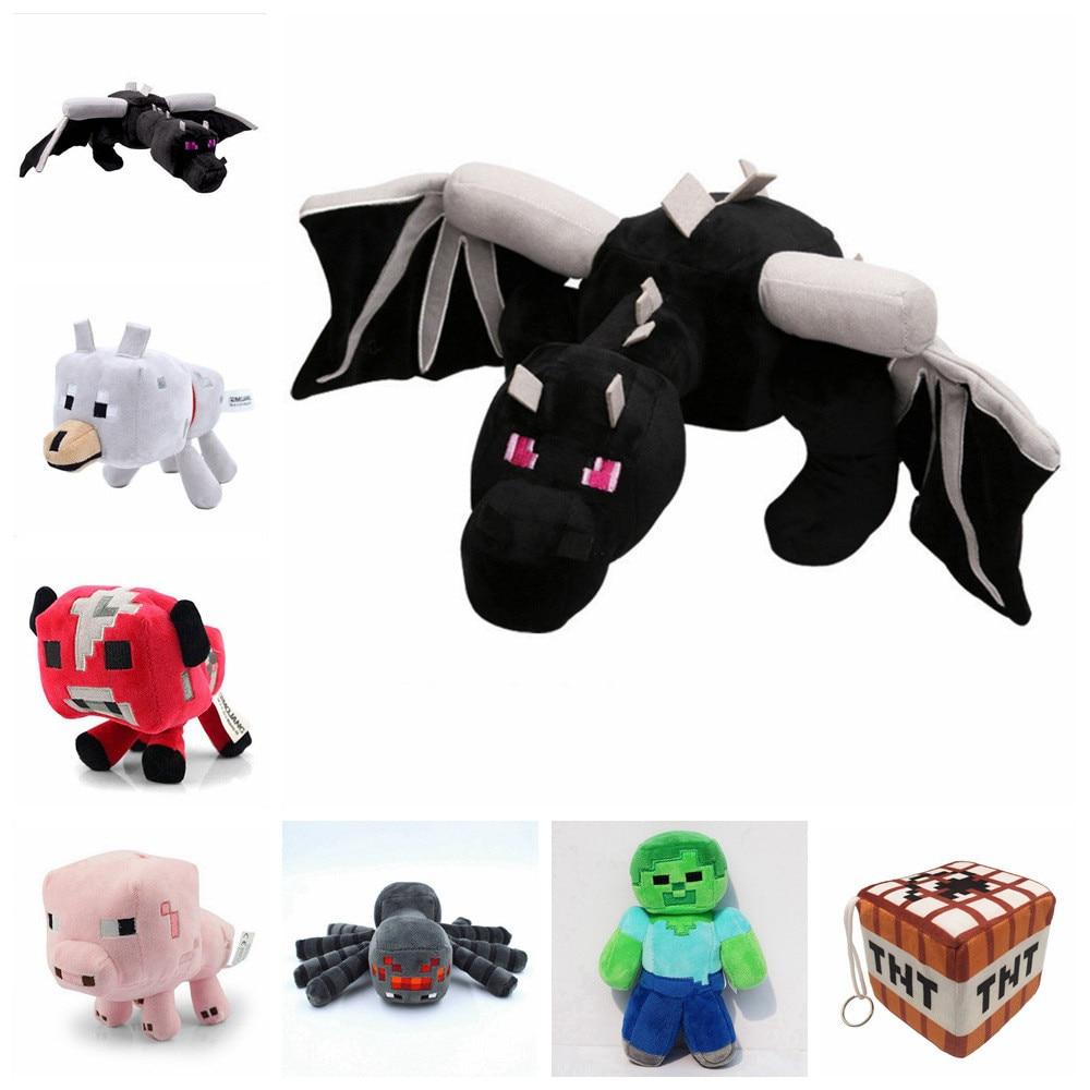 Minecraft Fat Ender Dragon Plush Doll Soft Black Minecraft - Peluches y felpa