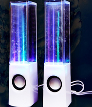 Dancing Water Speaker Lively Transportable USB LED Gentle Stereo Music Audio system for PC Laptops Tablets