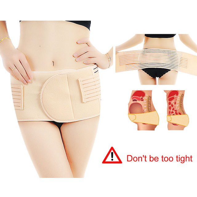 1Pcs Abdominal Belt full elastic binder after delivery for women for slim Support Maternity tummy waist belly trimmer fat burner 3
