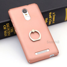 PC Hard Thin Case for Xiaomi Redmi Note 3 Pro Prime SE Global Internatio Version Coque Ring Holder Stand Phone Case Back Cover