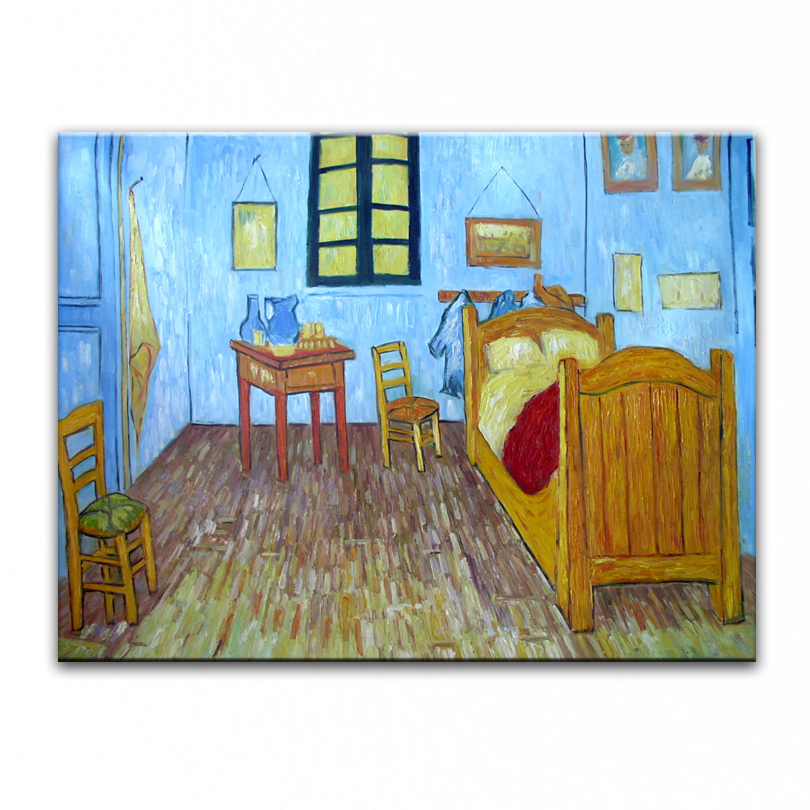 oil painting hand painted Home decoration famous oil painting high quality  Modern artists painting Van. Popular Van Gogh Bedroom Painting Buy Cheap Van Gogh Bedroom