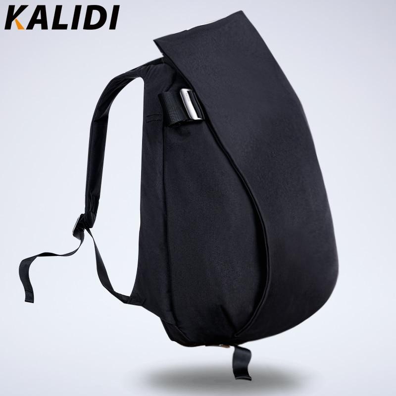 KALIDI 15 Inch Laptop Backpack Men Large Capacity Canvas Women Daypack Travel  Bags Computer 15.6 Waterproof 13e30aae2ae84