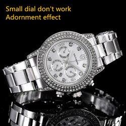 Nowe Top luksusowa marka SOUTHBERG mężczyźni kobieta zegarki rhinestone data zegar mężczyzna pasek ze stali nierdzewnej zegarek kwarcowy na co dzień zegarek na rękę watch brand watch wrist watchwatch rhinestone -