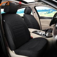 Autodecorun посвященный льна сиденья авто для Mercedes-Benz CLS Интимные аксессуары Чехлы для сидений мотоциклов для автомобилей Стульчики Детские Подушки поддерживает стиль