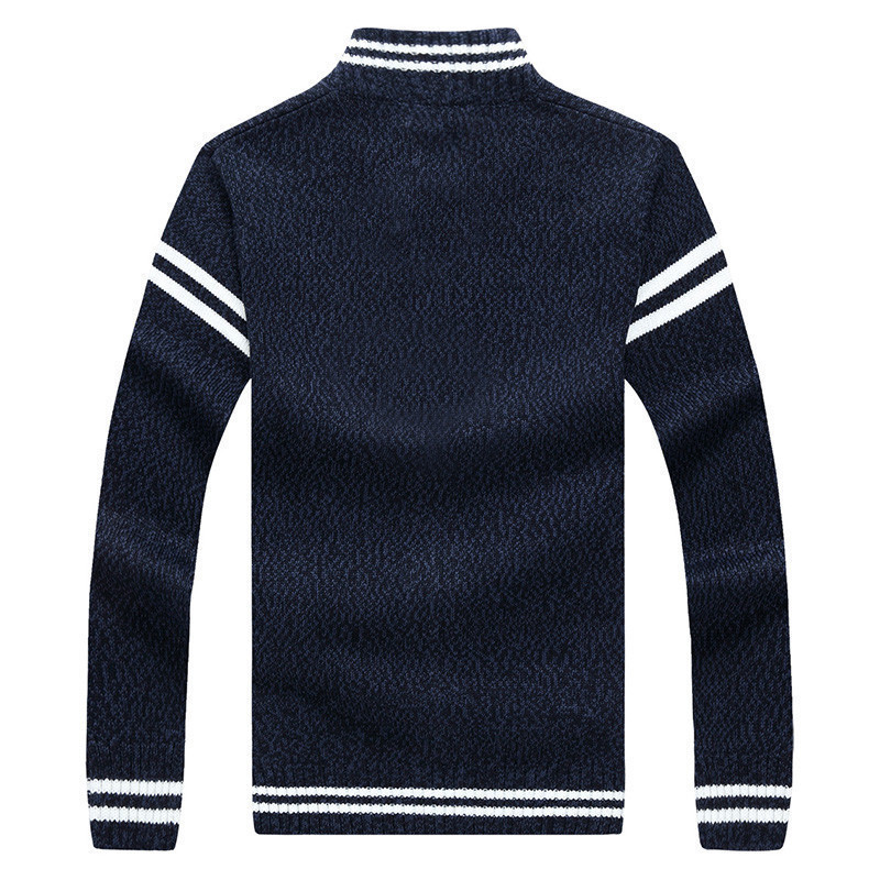 Riinr 2018 Fashion New Arrival Sweater Men High Quality Autumn Winter Warm Knit Badge Knitting Breathable Mens Crdigan Sweater