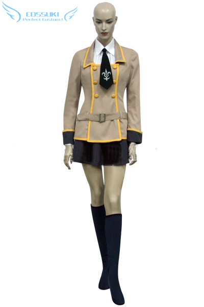 Newest High Quality Code Geass Girl School Uniform Cosplay Costume ,Perfect Custom For You !