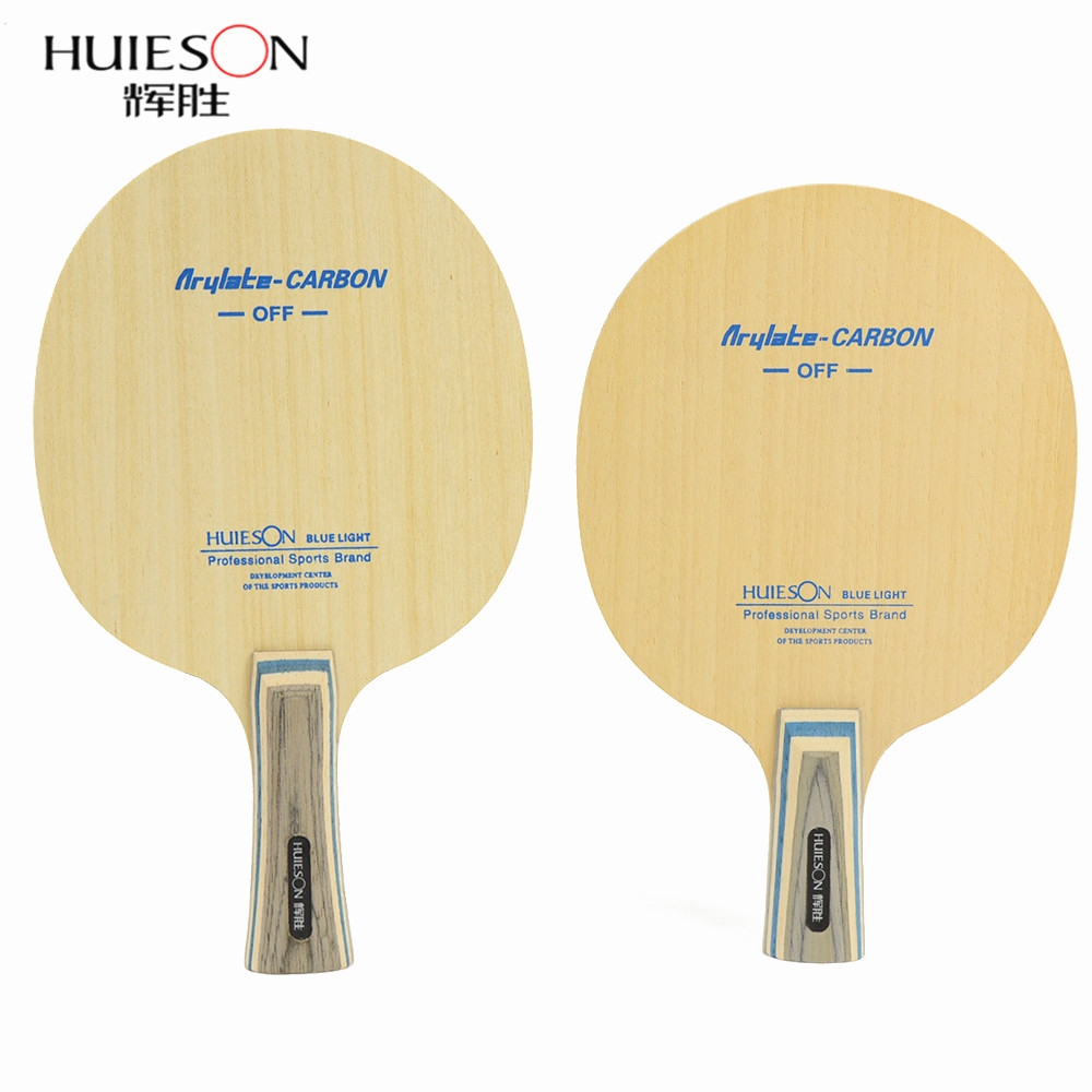 Huieson 7 Ply Arylate Carbon Fiber Table Tennis Blade Lightweight Table Tennis Racket Blade Fast Attack Ping Pong Accessories