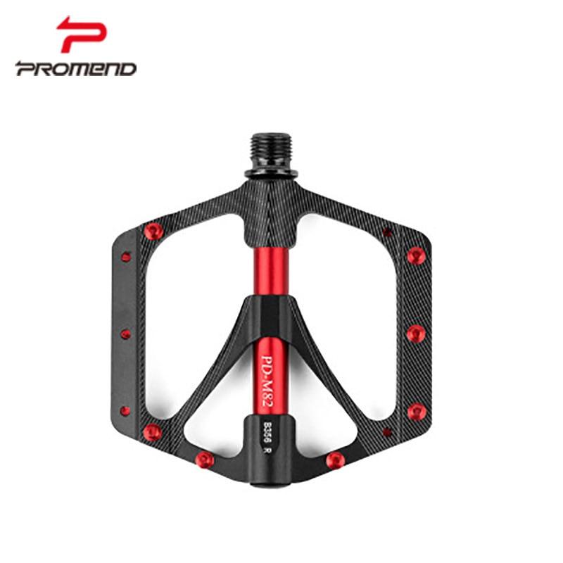 1 çift MTB pedalı kaymaz krom molibden çelik mil + alüminyum alaşımlı çerçeve 3 Düz cruiser kendinden sürüş bisiklet ped
