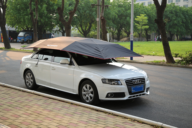 2016 New Outlet Mai cattle automatic car hood sun shade umbrellas awning car sun umbrella zest umbrellas 24755