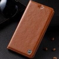 PALUNI Xiaomi Redmi Note 5A 5 5 Case Crazy Horse Genuine Leather Case Cover For Redmi