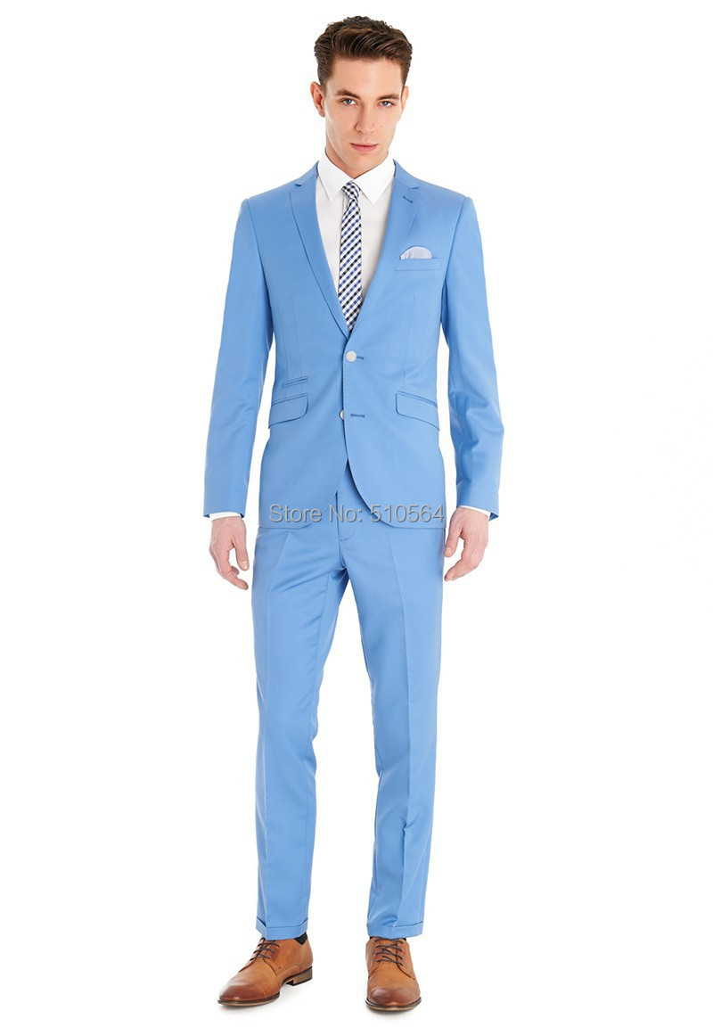 Compare Prices on Light Blue Suits for Men- Online Shopping/Buy