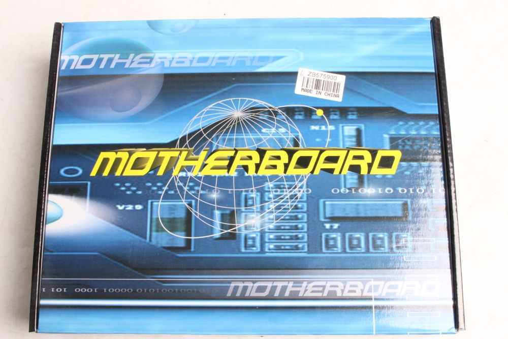 Profesional Papan Utama H55 A1 LGA 1156 DDR3 Ram 8G Papan Komputer Desktop Papan Utama 6 Channel Mainboard