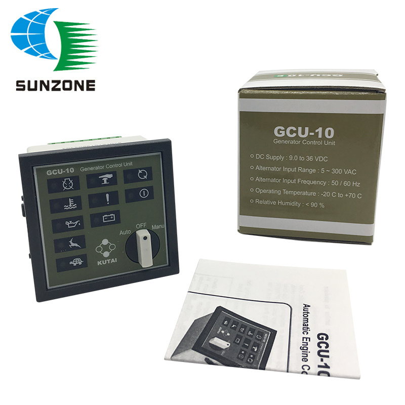Generator Engine Control Unit GCU10 With Auto Start Function Genset Controller GCU-10Generator Engine Control Unit GCU10 With Auto Start Function Genset Controller GCU-10