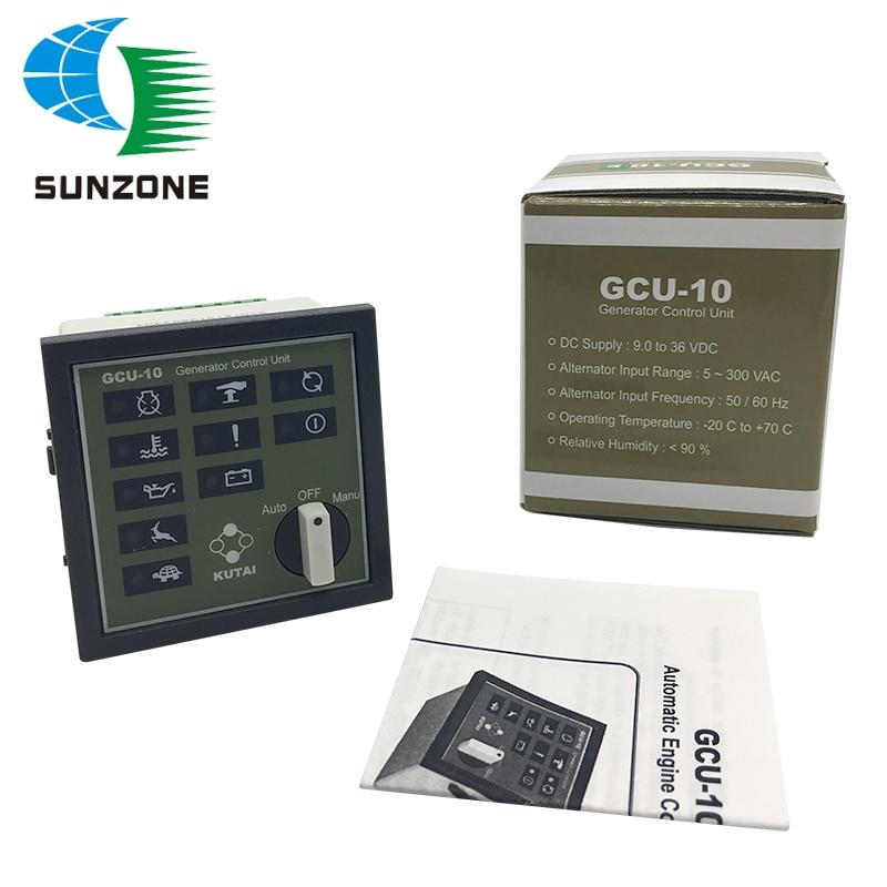Generator Engine Control Unit GCU10 With Auto Start Function Genset Controller GCU-10 gcu 20 generator control unit solid thai also means kutai generator control unit