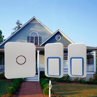 NO BATTERY WIRELESS DOORBELL 2 Buttons 1chime Perfect In Rainy Days No Cabling To Install 120m