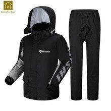 Fashionable Raincoat Motorcycle Rain Jacket Camping Women Raincoat Waterproof Abrigos Mujer Impermeable Rain Suit Fishing LKR194