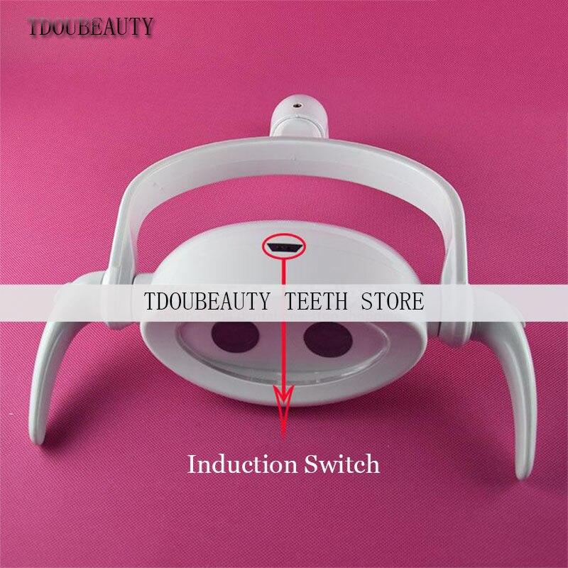 Dental Mouth light, LED Sensor Light, Dental Lamp, Cold Light, Shadowless Lamp, Dental Chair Accessories, Free Shipping(22mm)