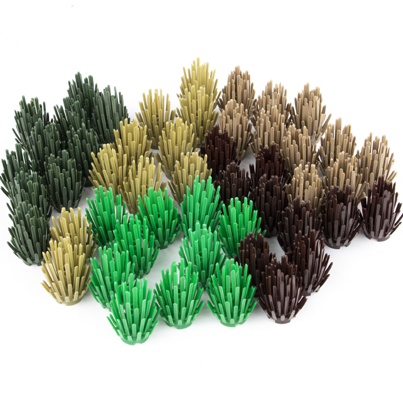 NEW Lego Mini Modular Fenced Tree and Flower Bamboo Garden with Base Plate