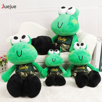 Cartoon Toy Frogs Doll Soft Love Frog Pillow 2016 New Design Frog Cushion Stuffed Animal Plush