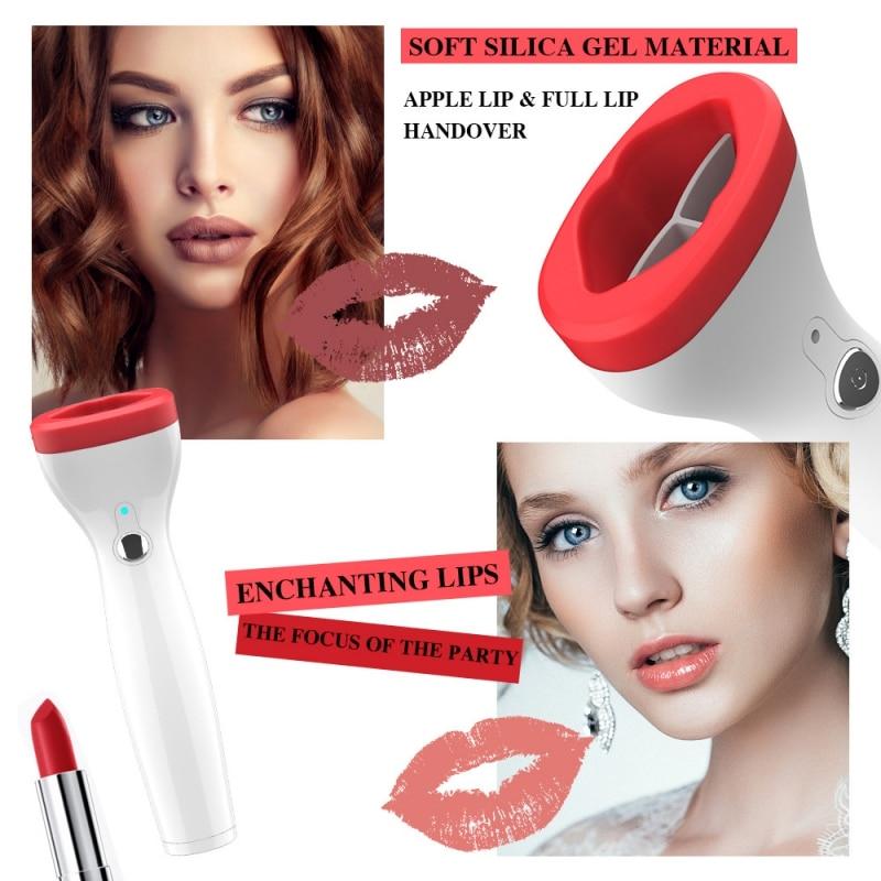 Automatic Lip Plumper Electric Lip Enhancer Intelligent Deflated Designed Lip Plumpering Device