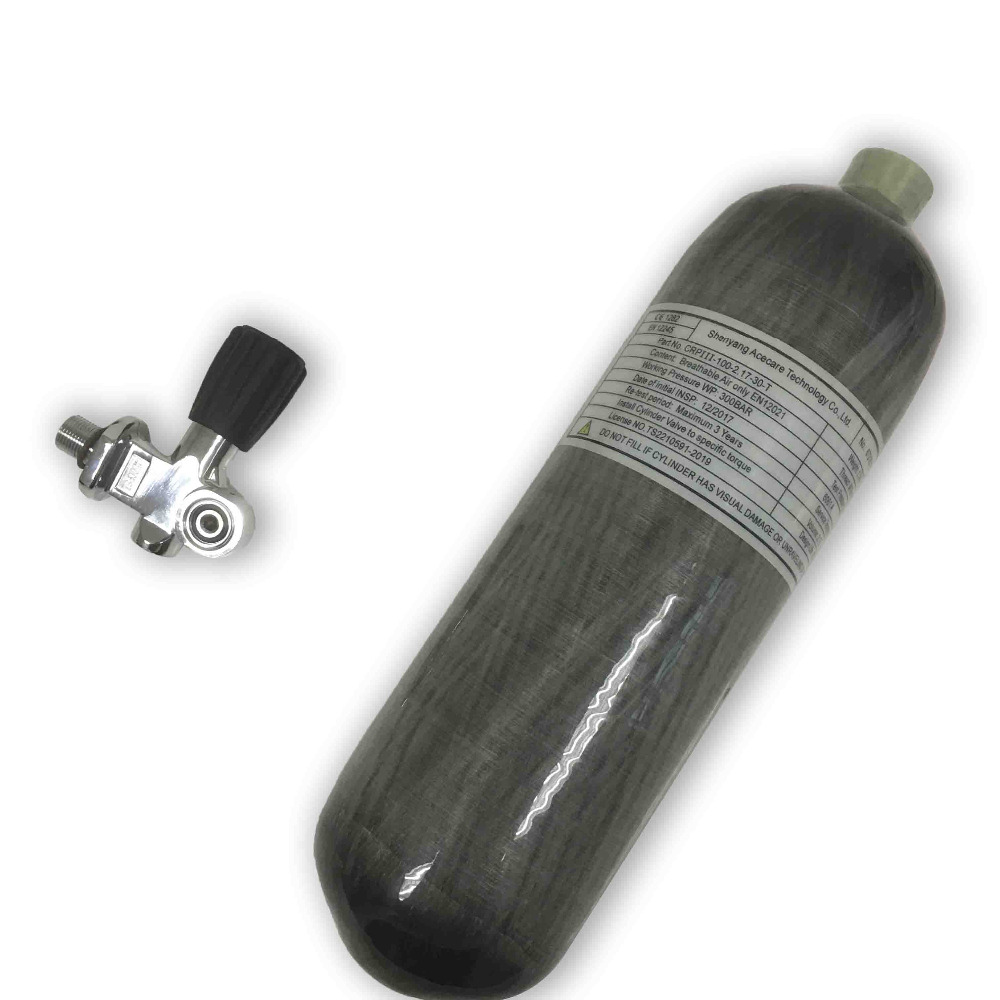 AC121781 Scuba Tank For Diving High Pressure Carbon Fiber Cylinder Air Rifle To Hunt Compressed Air Bottle  Fire Fighter Airgun