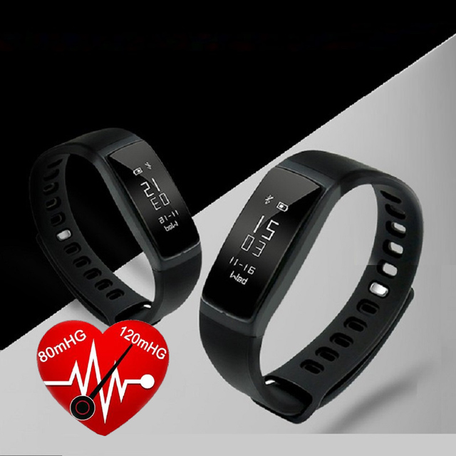 LY 107S Sports Smart Band wristband Waterproof IP67 Heart Rate Blood Pressure Measure Bracelet for Android IOS Smartwristband