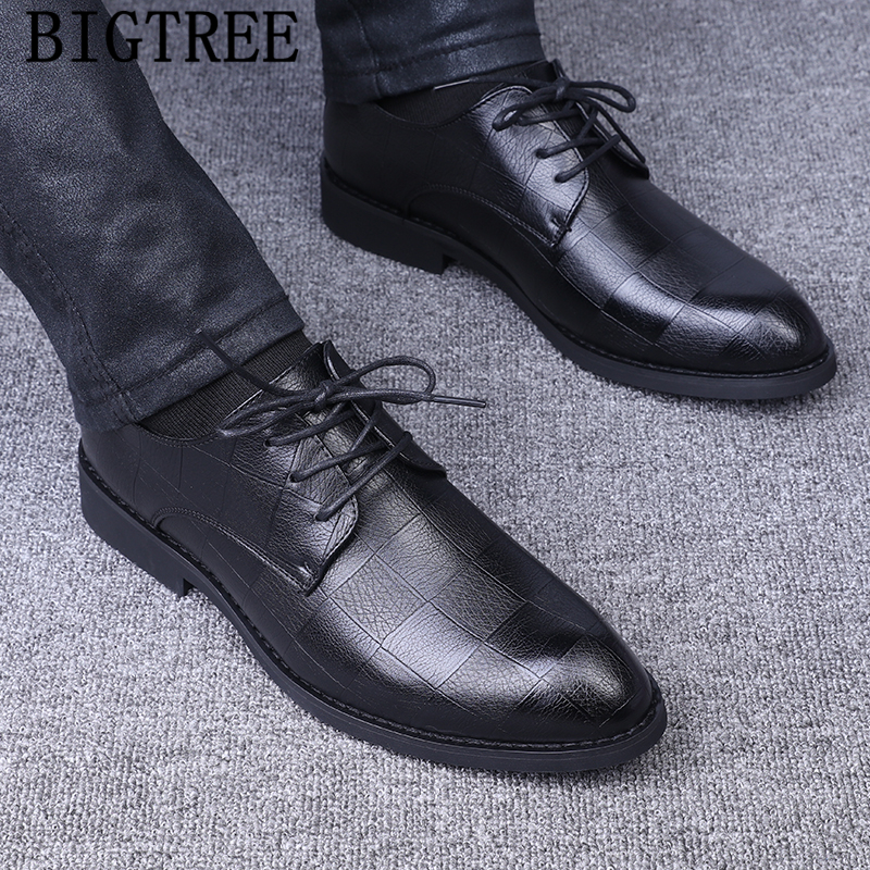 Oxford Shoes For Men Leather Shoes Men Classic Wedding Dress Luxury Dress Coiffeur Formal Shoes Men Elegant Sapato Masculino