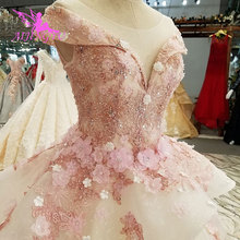 AIJINGYU chaquetas de encaje para vestidos de boda donde comprar vestido de princesa romántica campo novia maravillosa Modest vestidos de novia
