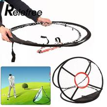 Relefree Golf Pop UP Indoor Outdoor Chipping Pitching Cages Mats Practice Easy Net