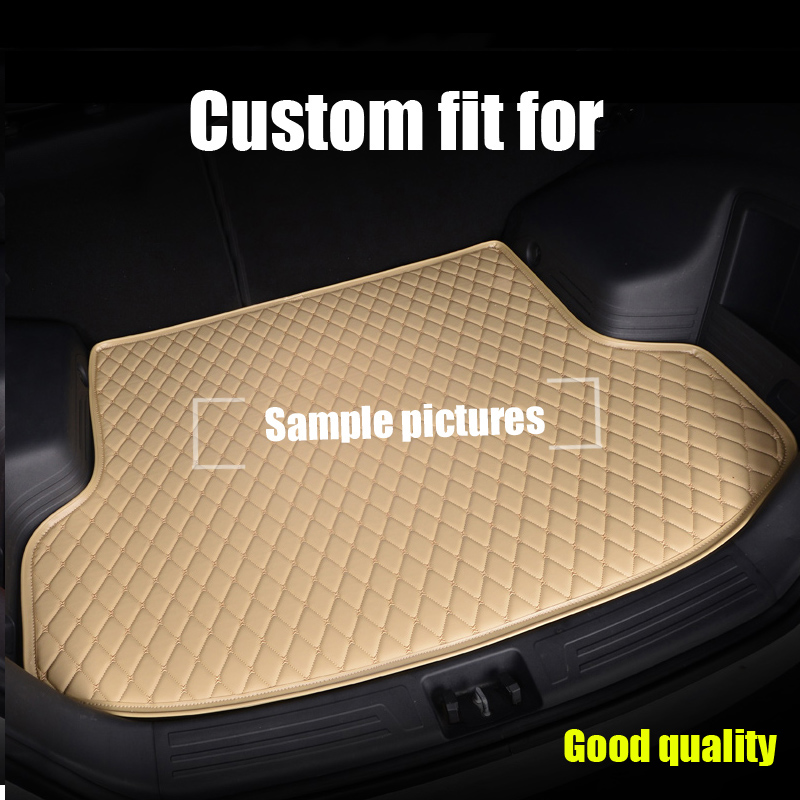 RKAC Custom Car Trunk mats fit for Buick GL8 Enclave Sail SRV HRV ENVISION BOOT LINER TRUNK REAR CARGO TRAY CARPET  MATS PAD Dashboard