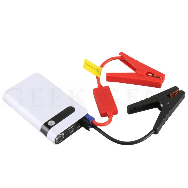 ФОТО Car Emergency Power 12000mAh Supply USB Car Jump Starter Emergency Charger Booster Power Multi-functional Mini & SOS Light