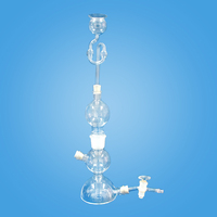 250ml Kipp's Apparatus ;Hydrogen Generating Glass Device;Gas Generating Device Lab Supplies