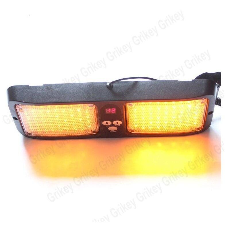 86 LED Visor Panel Car led strobe light Emergency Light