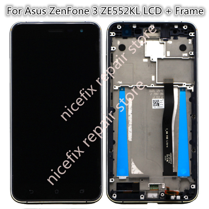 asus Ze552kl lcd  with frame  140 yuan  (2)_